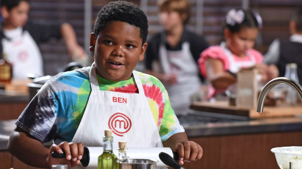 MasterChef Junior Ben Watkins