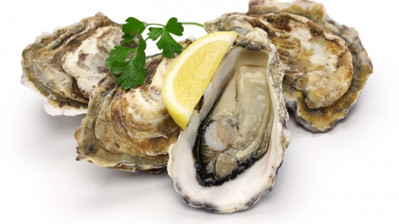 Polyaspartic acid in oyster shells as
