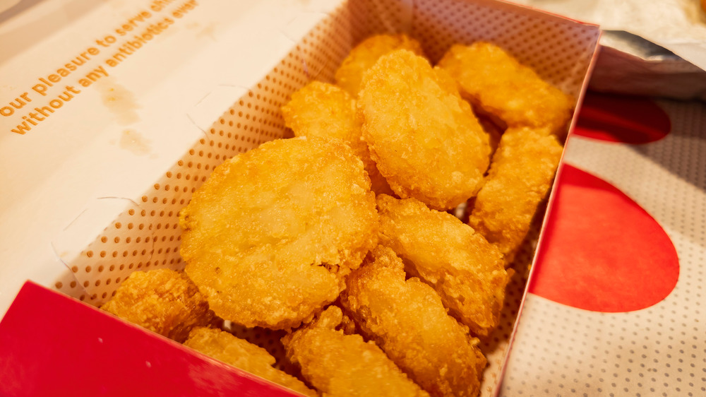 Box of chicken nuggets