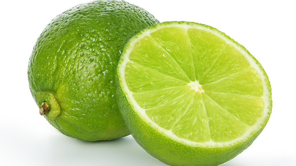 lime for 5-ingredient key lime pie