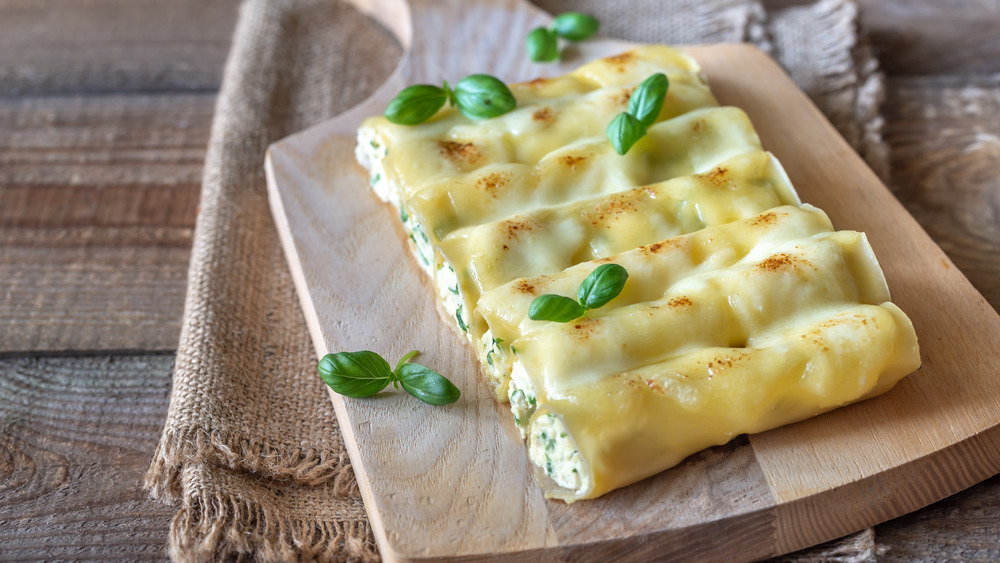 Spinach and cheese pasta