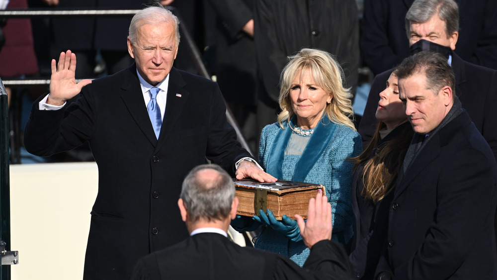 Joe Biden takes Presidential oath of office