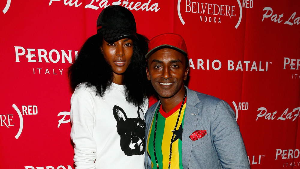 Chef Marcus Samuelsson and wife Maya Haile