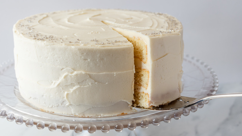 classic vanilla cake recipe sliced