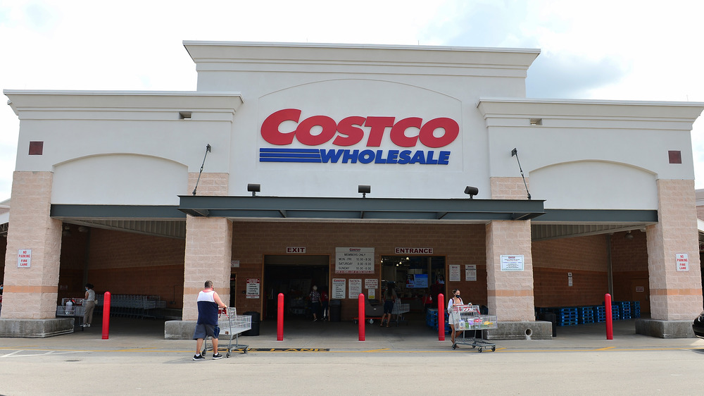 Costco sign and storefront