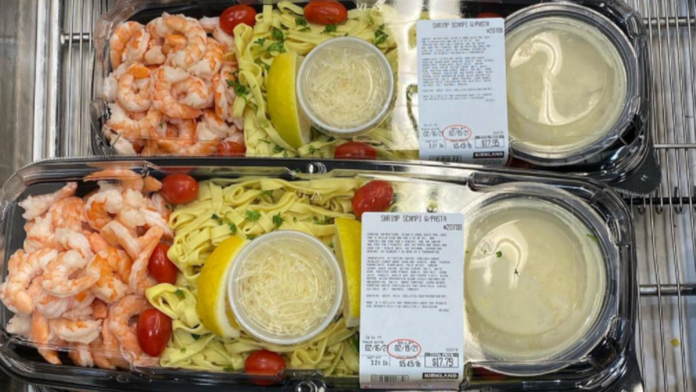 Costco shrimp scampi