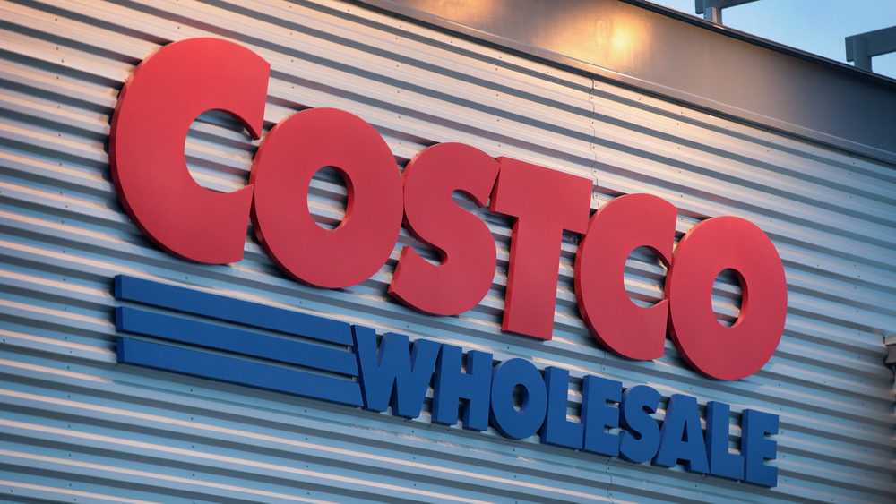 Costco Wholesale sign