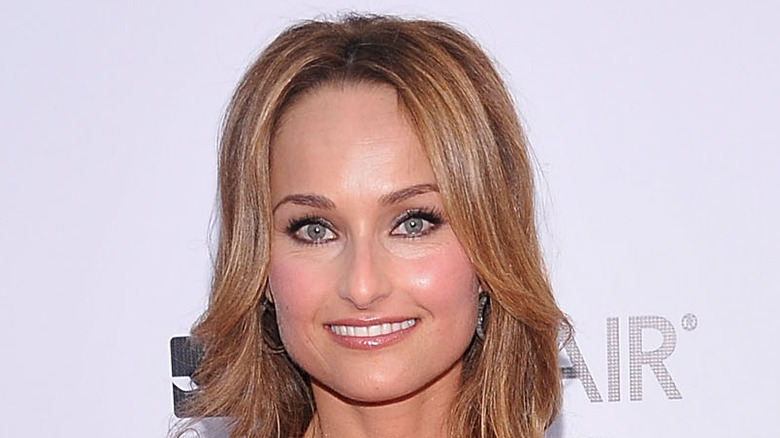 Giada De Laurentiis posing on red carpet