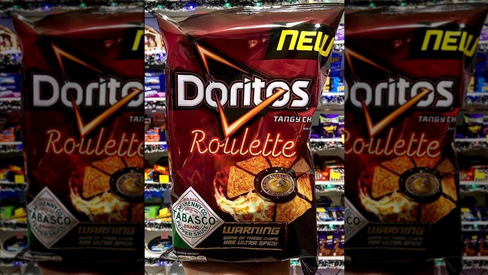 A photo of Doritos Roulette chips