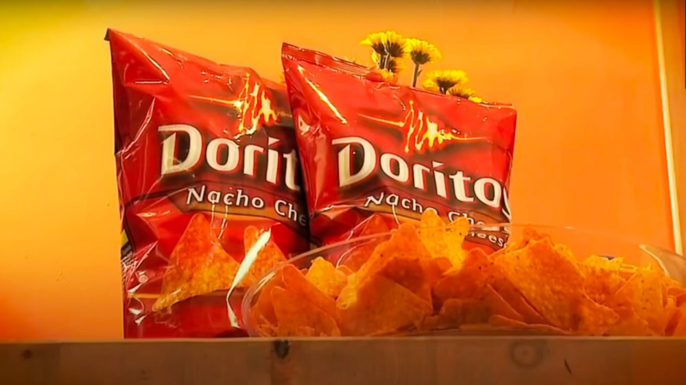 Bags of Doritos