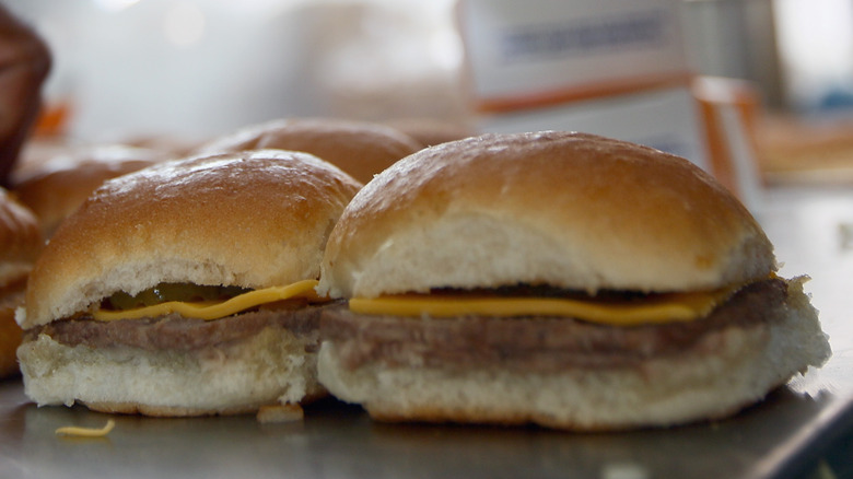 Cheese Slider from white castle