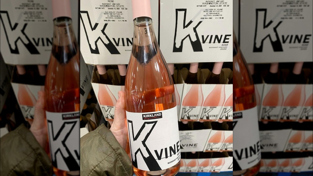 Costco K Vine wine rose