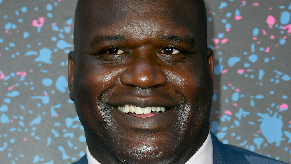 A close-up shot of Shaquille O'Neal