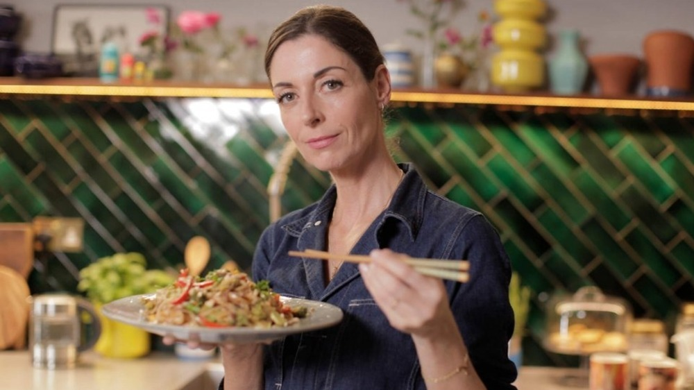 Mary McCartney in her kitchen