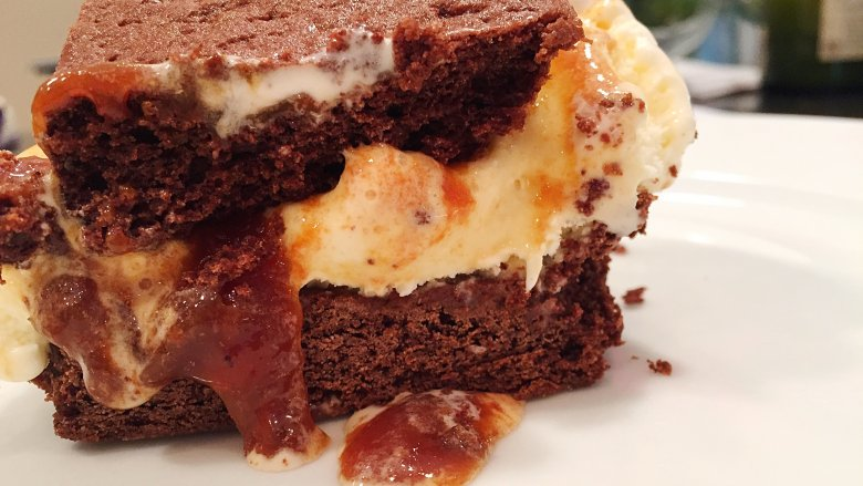 Chocolate, Candy, And Caramel Ice Cream Sandwich To Keep You Cool