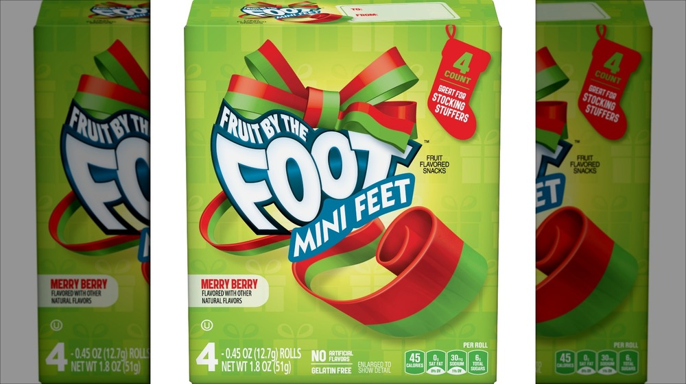 Merry Berry Fruit By The Foot box
