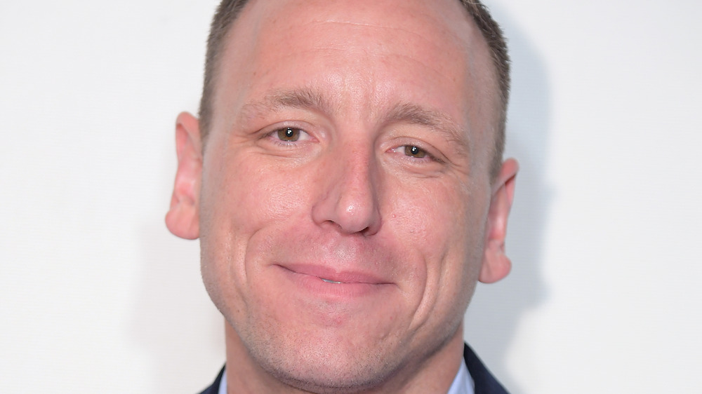 Competitive eater Joey Chestnut