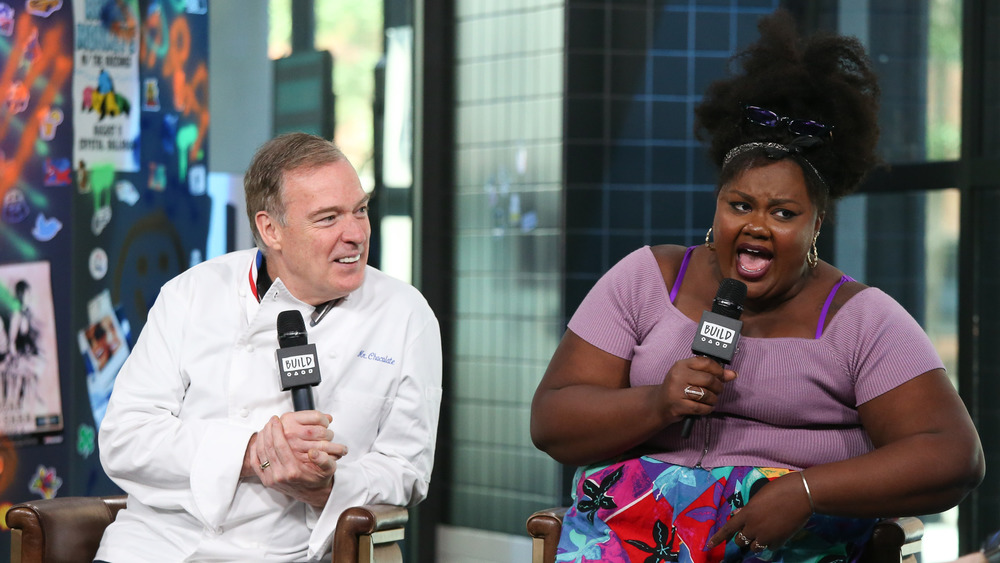 Nicole Byer and Jacque Torres in interview
