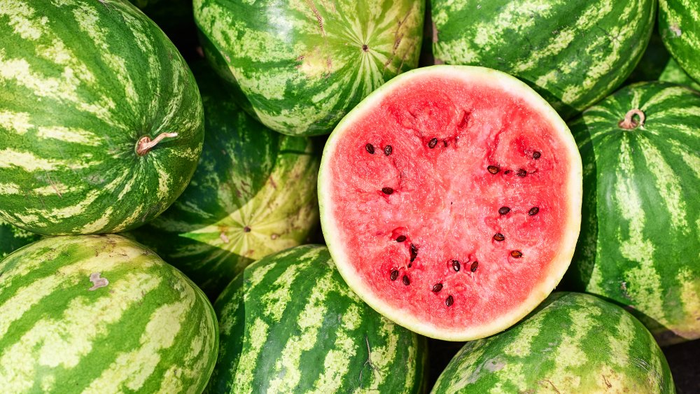 Here's the secret to picking a perfectly ripe watermelon