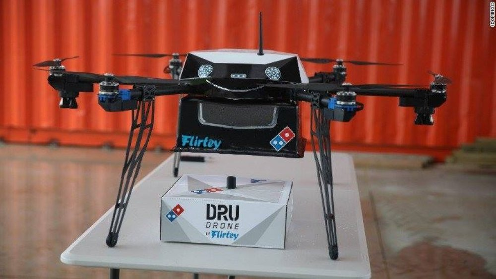 Domino's Pizza Drone might replace pizza delivery drivers