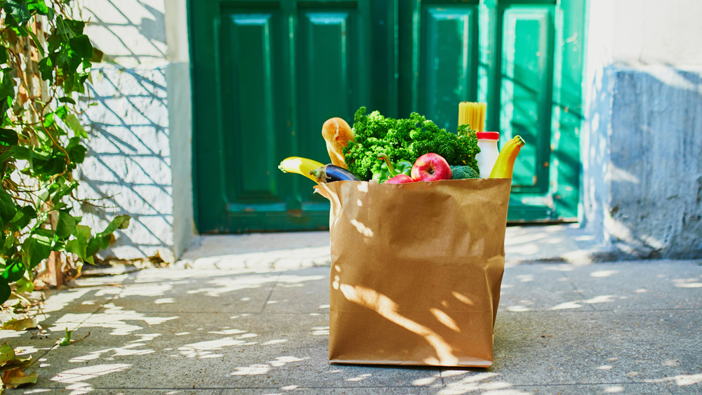Groceries delivered during COVID-19