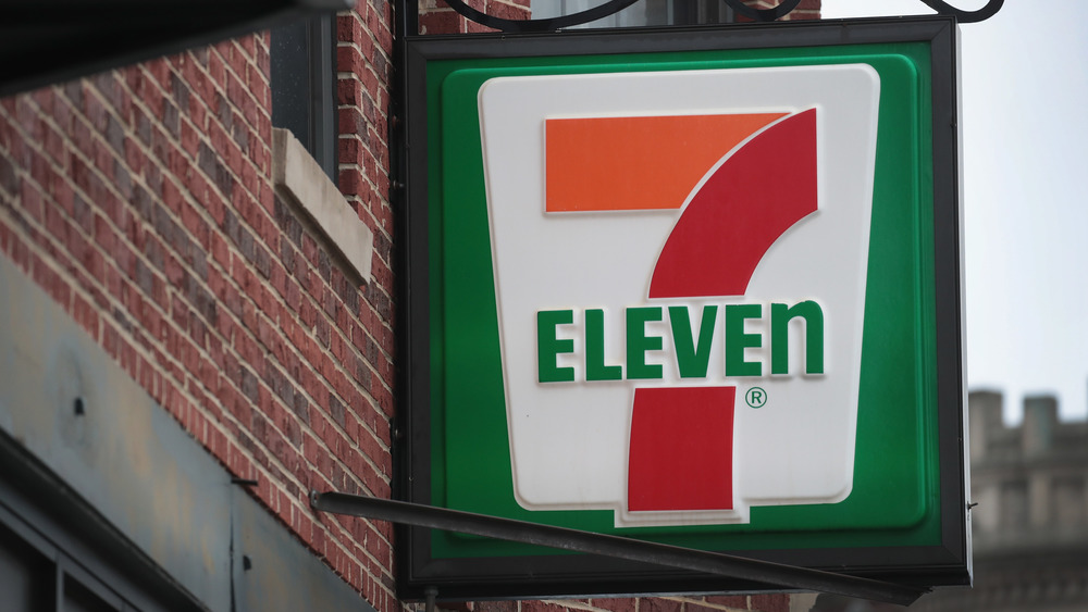 7-Eleven store sign