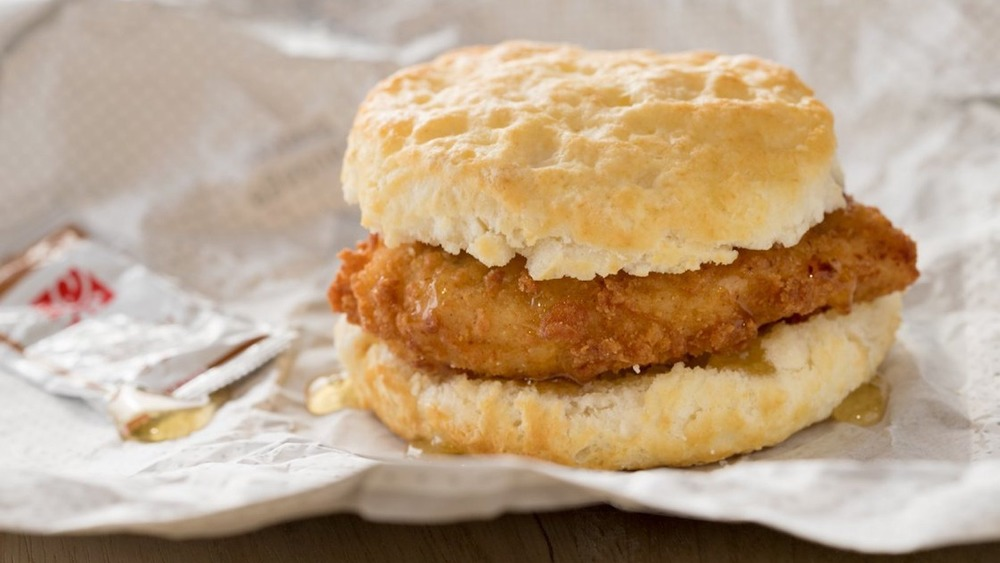 How The Famous Chick-Fil-A Chicken Biscuit Came To Be