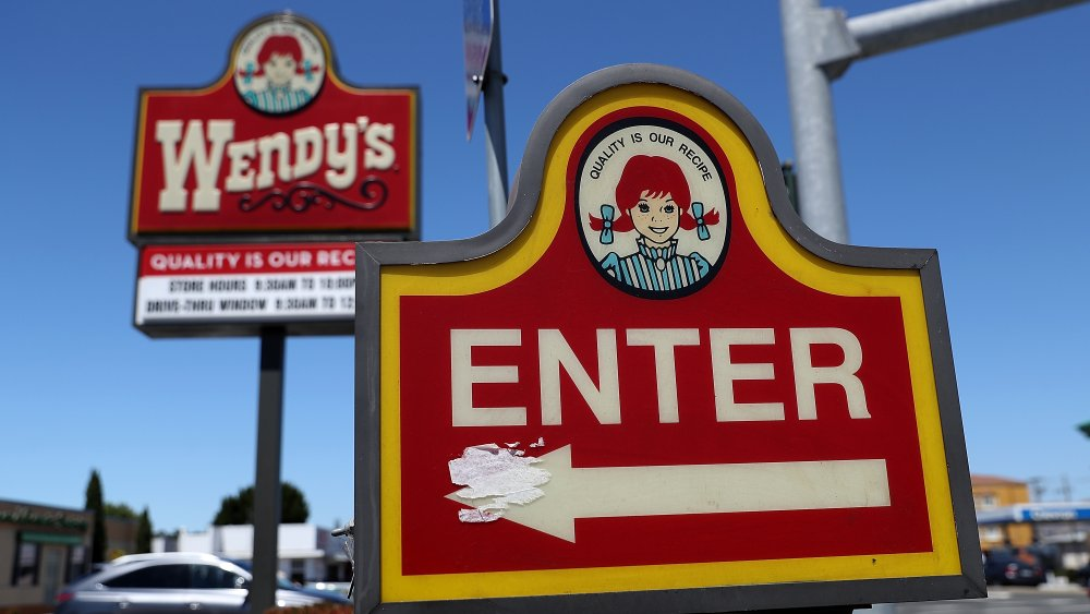 Wendy's signs