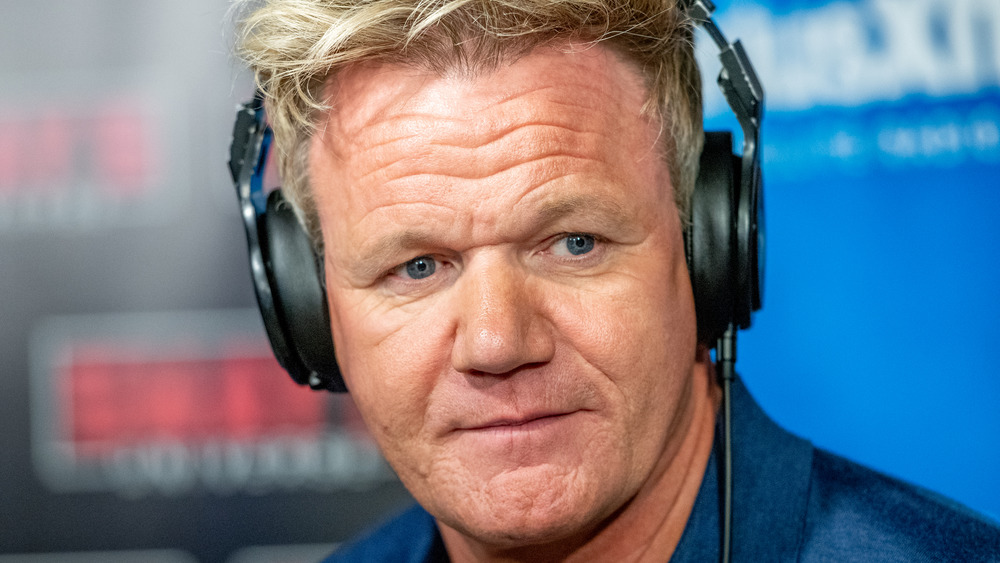 Gordon Ramsay intense eyes