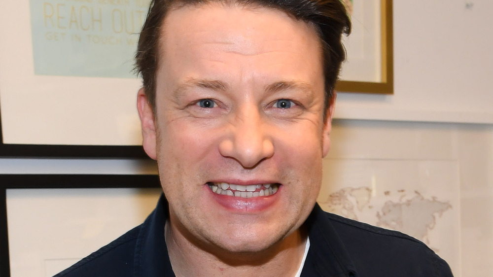 Jamie Oliver at book event