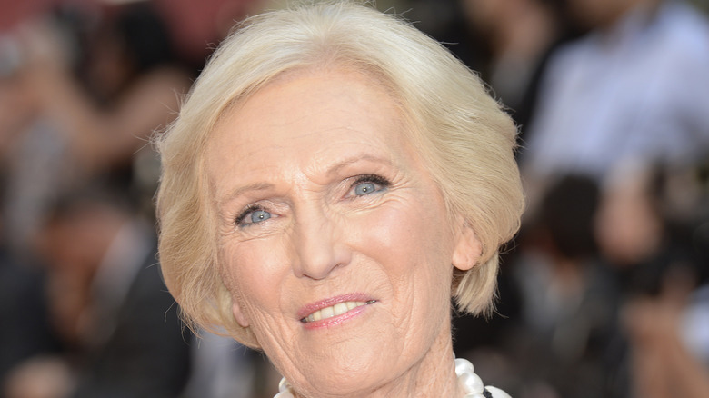 mary berry portrait
