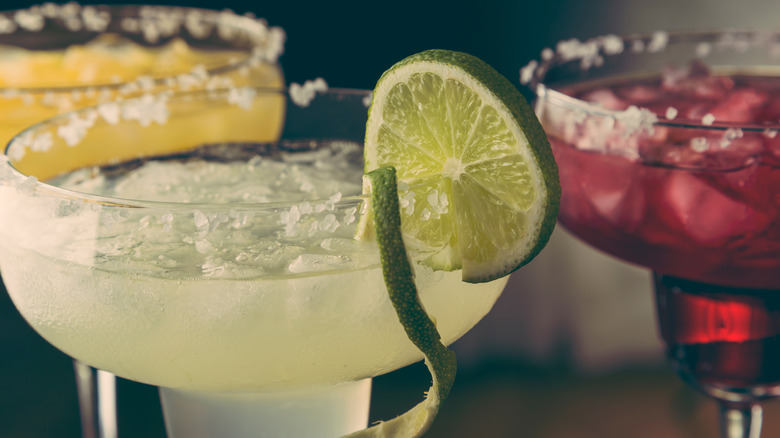three kinds of margaritas