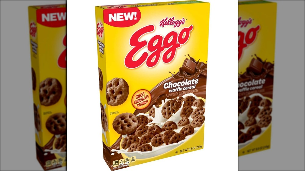 Long-awaited chocolate Eggo waffle cereal