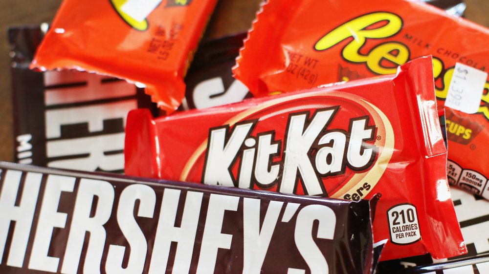 Popular candy bars, ranked worst to best