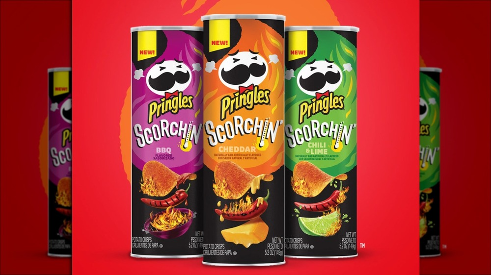 The new Scorchin' Pringles cans