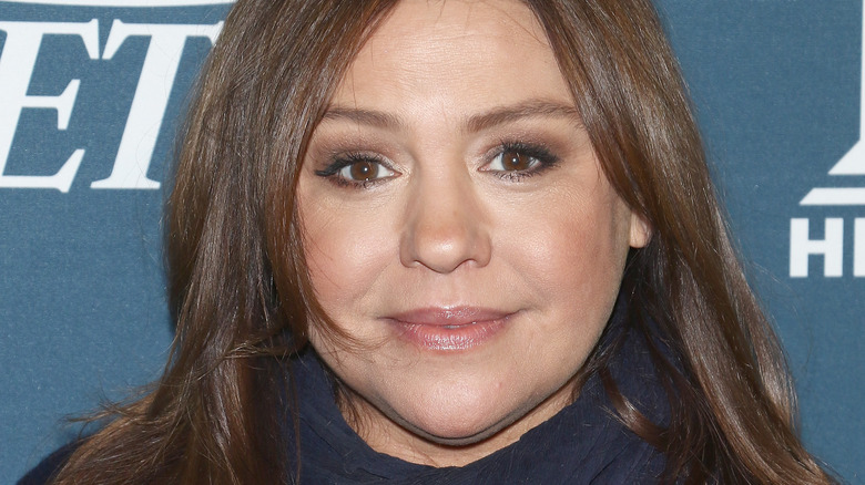 Rachael Ray on a red carpet