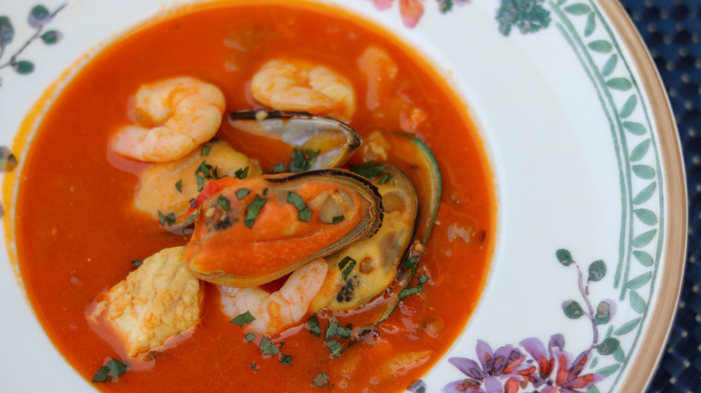 bowl of Bouillabaise