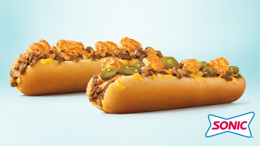 Sonic's loaded cheesesteaks