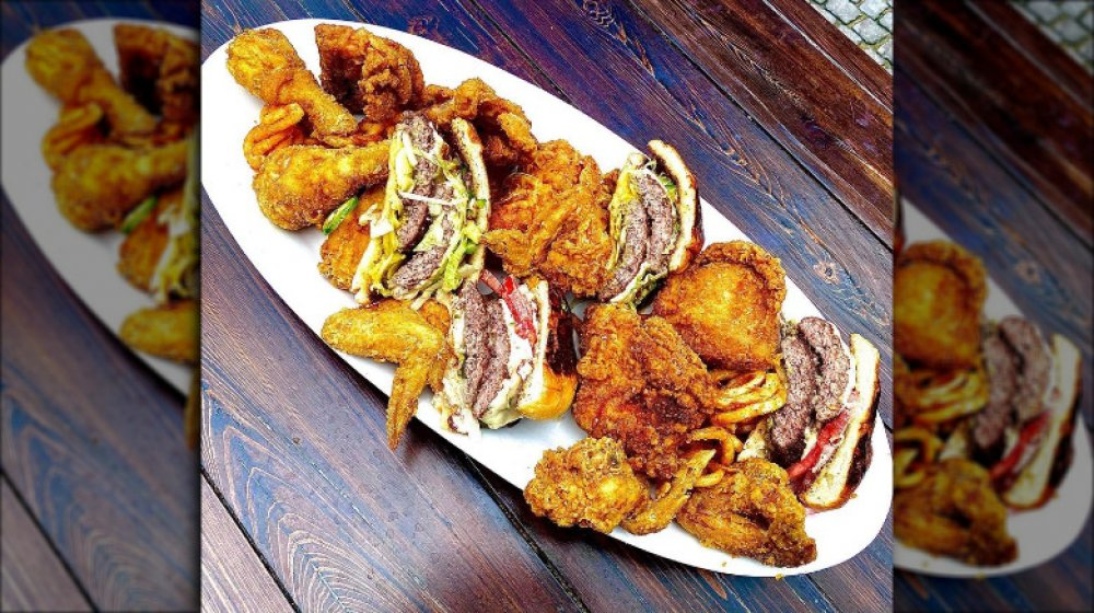 South Carolina: Edmund's Oast's fried chicken