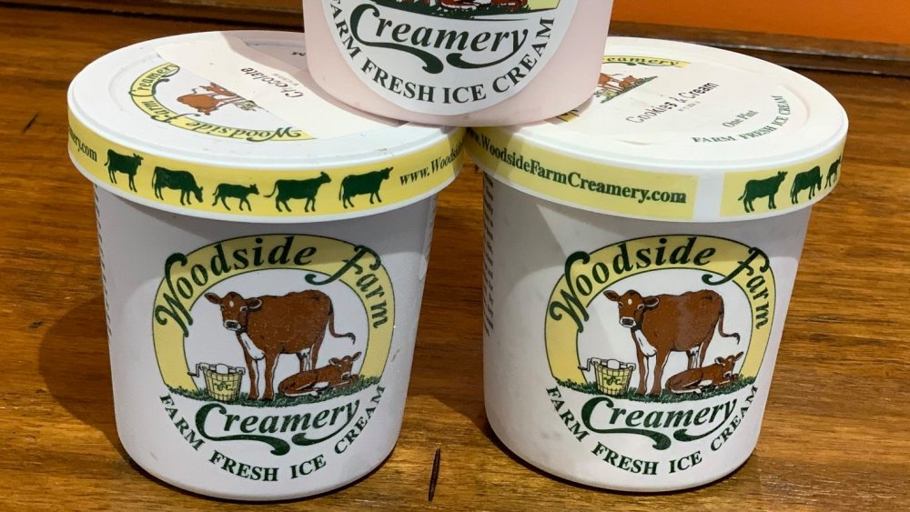 Woodside Farm ice cream