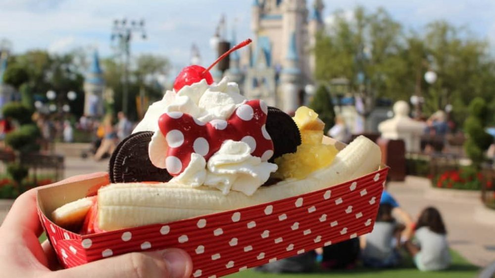Magic Kingdom dessert