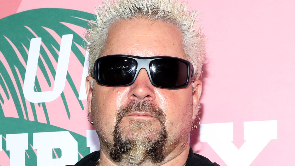 Guy Fieri in black sunglasses