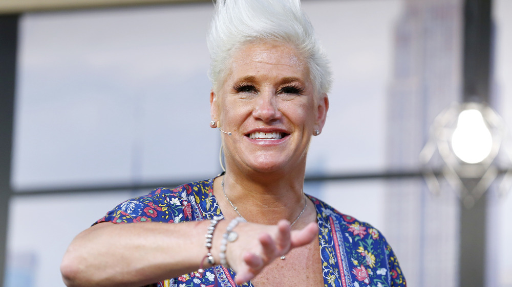 Anne Burrell smiles