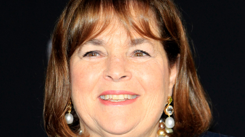 Ina Garten in dangling earrings