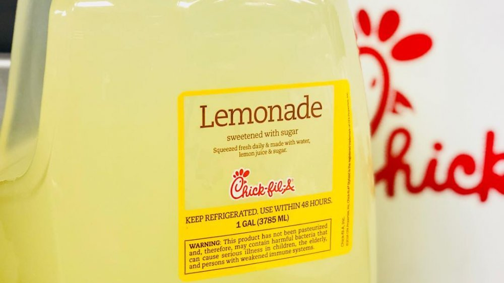 The Mistake Not To Make With Chick Fil A S Lemonade