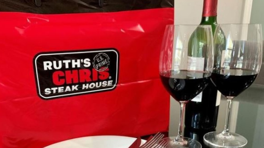 Ruth's Chris Steakhouse bag