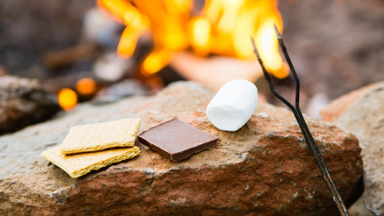 S'mores and campfire