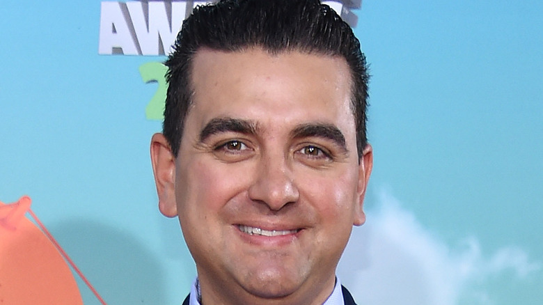 Buddy Valastro with slicked back hair