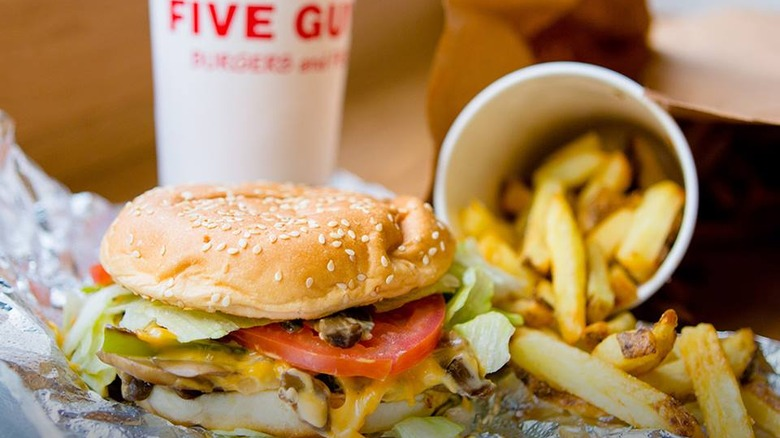 The one thing you should always put on your Five Guys burger