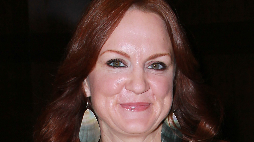 Ree Drummond pursed lips